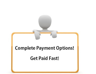 complete payment methods and payment options