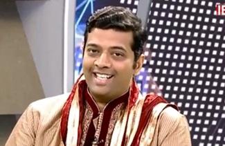 Playback Singer Sriram Parthasarathy | Prathivimbam | IBC Tamil Tv
