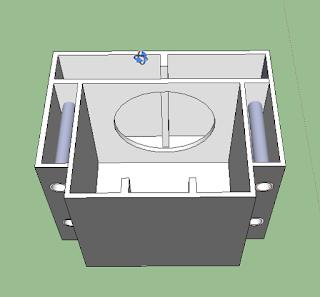 box speaker Sub dengan transmision Line Paralon
