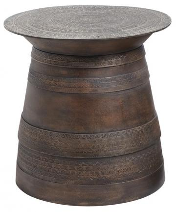 Copy Cat Chic Pottery Barn Frog Rain Drum Accent Table