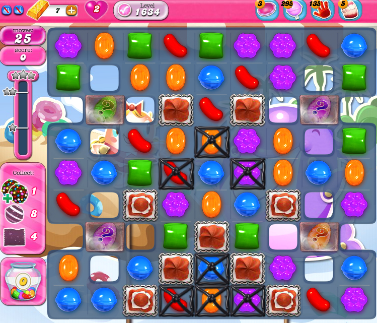 Candy Crush Saga 1634