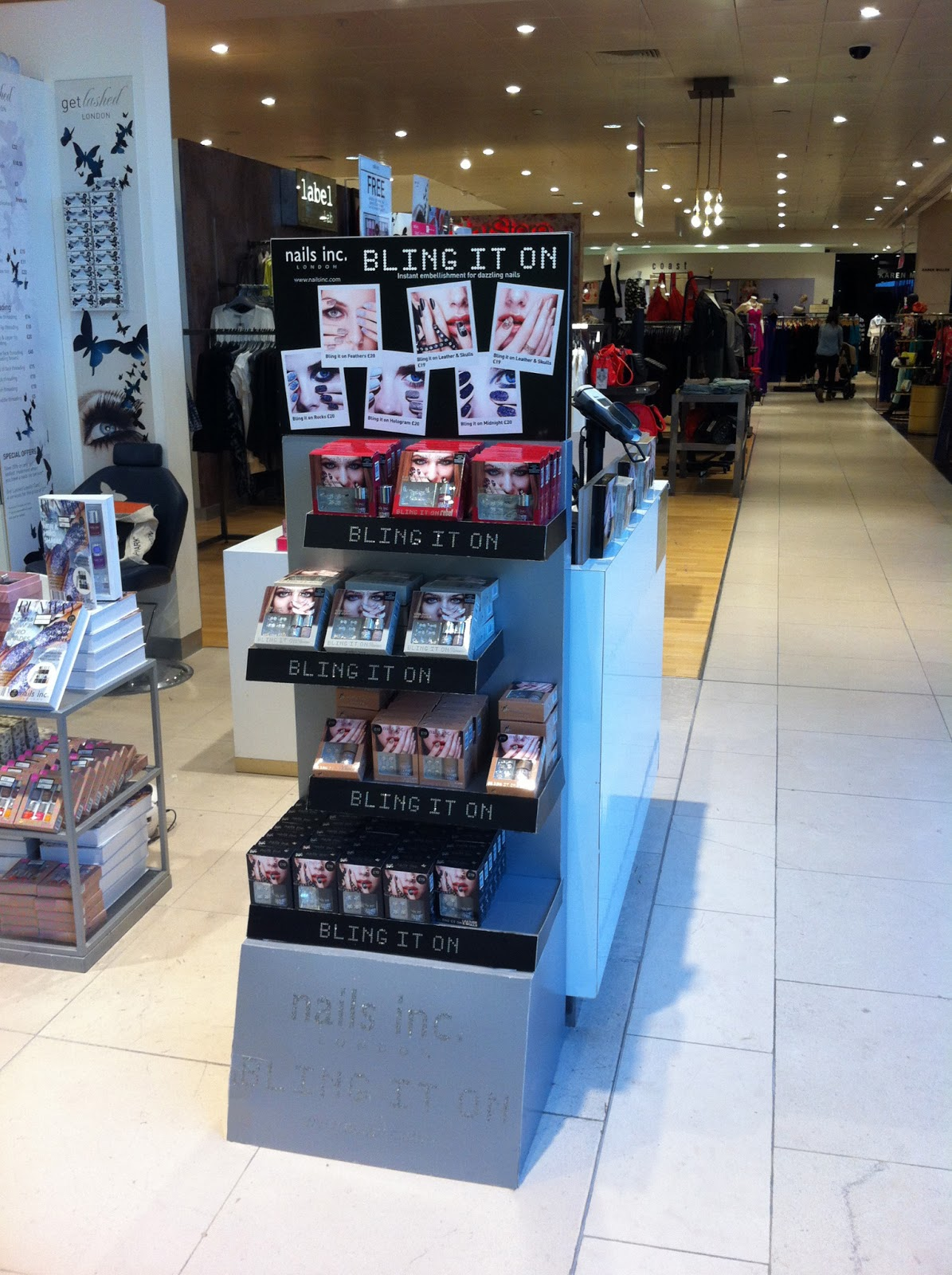 001f36adfb LATEST IN-STORE CAMPAIGN BY NAILS INC. CHALLENGES SHOPPERS TO  BLING IT ON