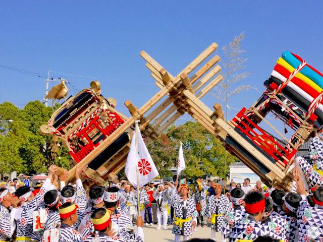 Tontenton Matsuri, at Imari-jinja Shrine, Imari, Saga