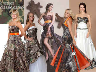 Used Camo Wedding Dresses