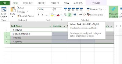 Sample Microsoft Project Plan