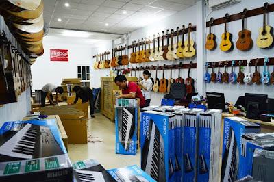 Các bộ phận của đàn Guitar Acoustic