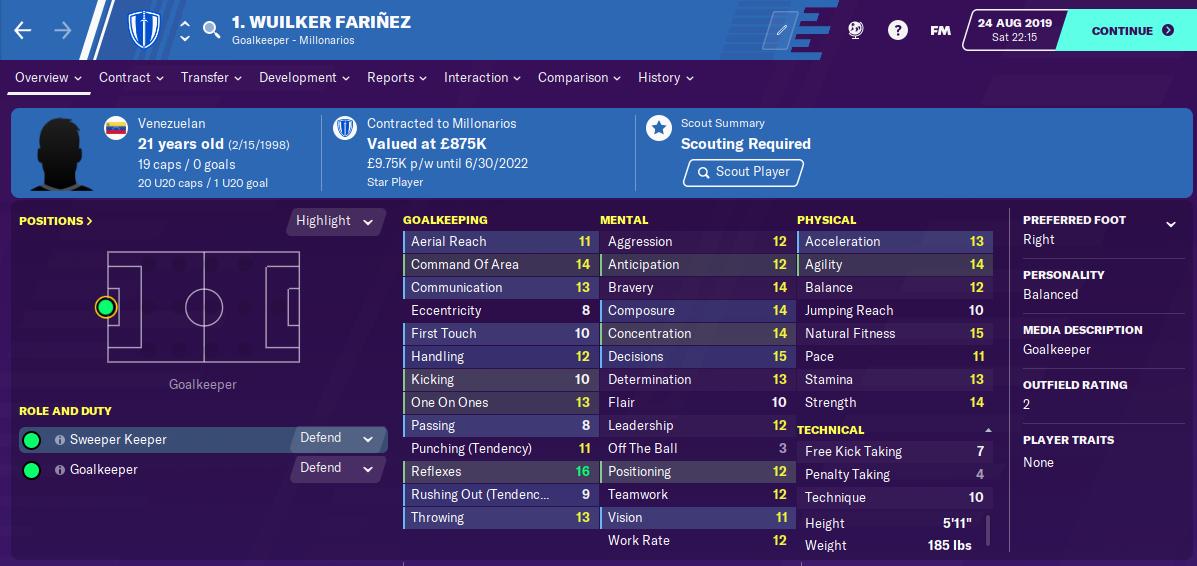 FM20 Wuilker Farinez