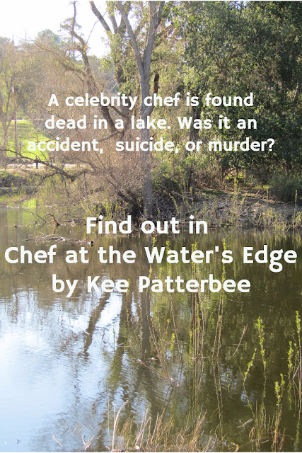 Chef at the Water's Edge by Kee Patterbee -  A mystery review, with a touch of romance.