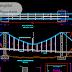 تفاصيل معمارية لجسر تمرير انابيب اوتوكاد dwg