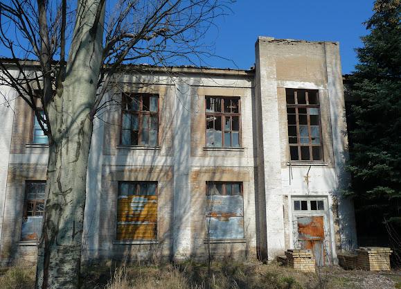 Слов'янськ. Колишні адміністративні будівлі АІЗа