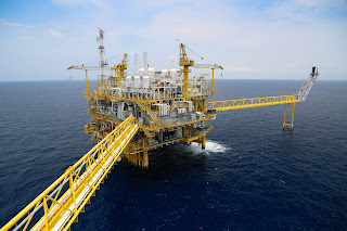 Offshore oil and gas exploration and production rig or platform