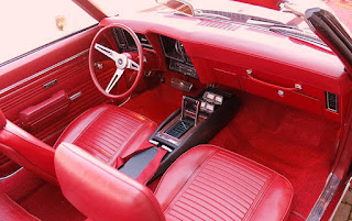 1969 Chevrolet Camaro Convertible RS SS 396 Dashboard