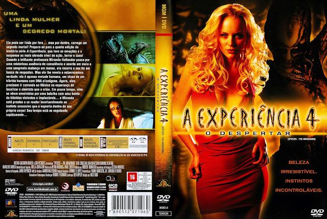 Capa DVD A Experiência 4