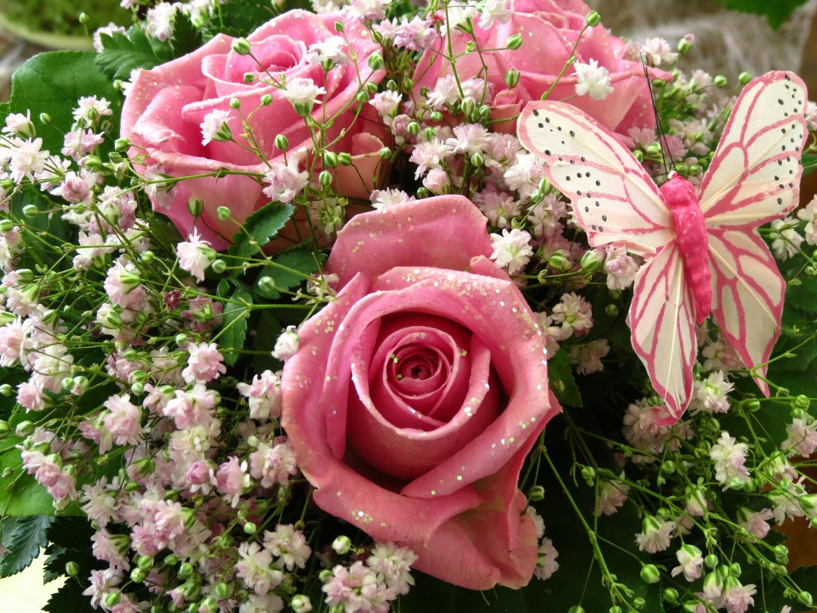 Kukkakimput Syntymäpäiville