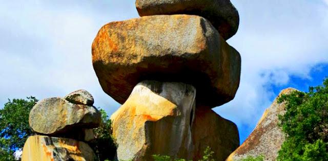 Domboshava Rocks in Zimbabwe