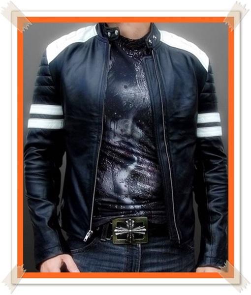foto jaket kulit keren banget
