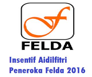 bonus aidilfitri Peneroka Felda 2016