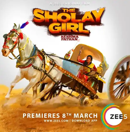 Watch Online The Sholay Girl 2019 Full Movie Download HD Small Size 720P 700MB HEVC HDRip Via Resumable One Click Single Direct Links High Speed At WorldFree4u.Com