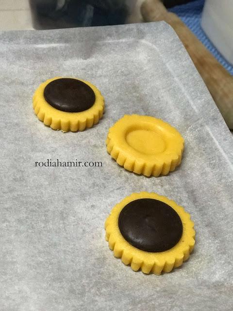 Resepi Biskut Tart Coklat