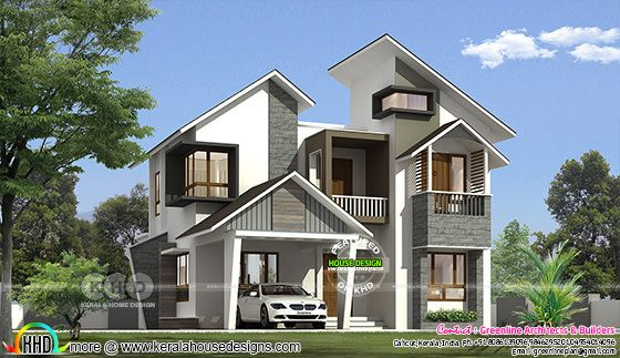 Ultra modern contemporary 1822 sq-ft 3 bedroom home