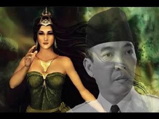 Cerita Merah Delima Soekarno Dan Nyi Roro Kidul