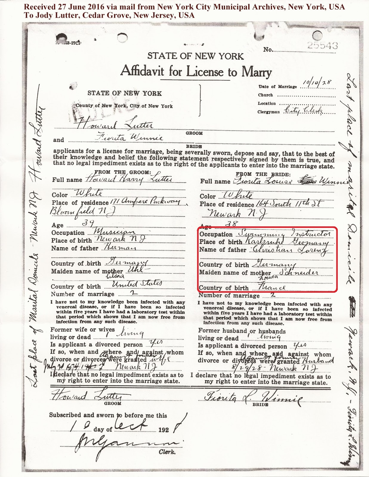 new york marriage divorce records