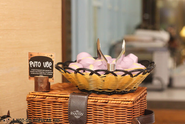 Puto Ube of The Pantry, Dusit Thani