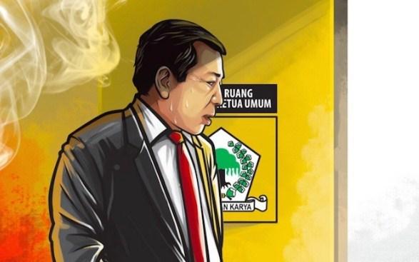32 Akun Dipolisikan Novanto, Kemenkominfo: Meme Novanto Bukan Ujaran Kebencian tapi Satire