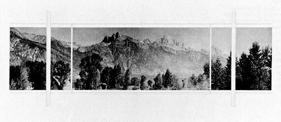 Casa Stanley Resor en Wyoming | Mies van der Rohe | Descripción + planos + vistas