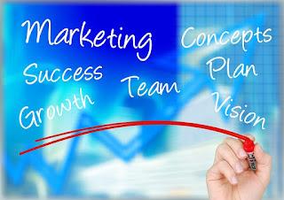 ブログ記事、将来の目標と収入の関係