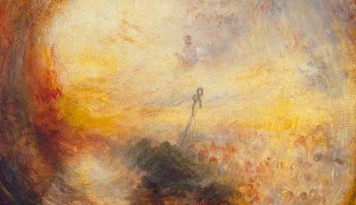 Πίνακας του Ουίλλιαμ Τέρνερ. Περίοδος: Ρομαντισμός Light and Colour   (Goethe's Theory) The Morning after the Deluge. 1843 Είδος: Christian art