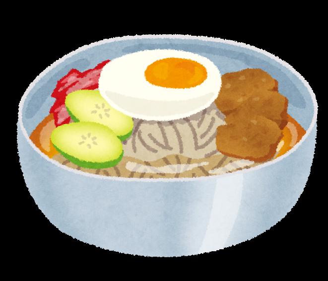 冷麺のイラスト | 無料イラスト ... : 無料素材 子供 : 子供