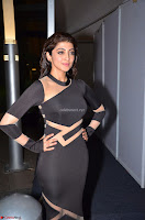 Pranitha Subhash in a skin tight backless brown gown at 64th Jio Filmfare Awards South ~  Exclusive 086.JPG