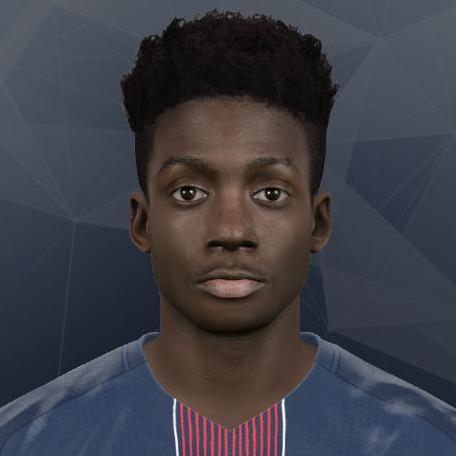 PES 2017 Timothy Weah Face by Gonduras2012