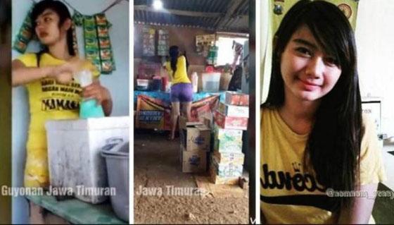 Penjual Kopi Cantik dan Seksi di Kediri