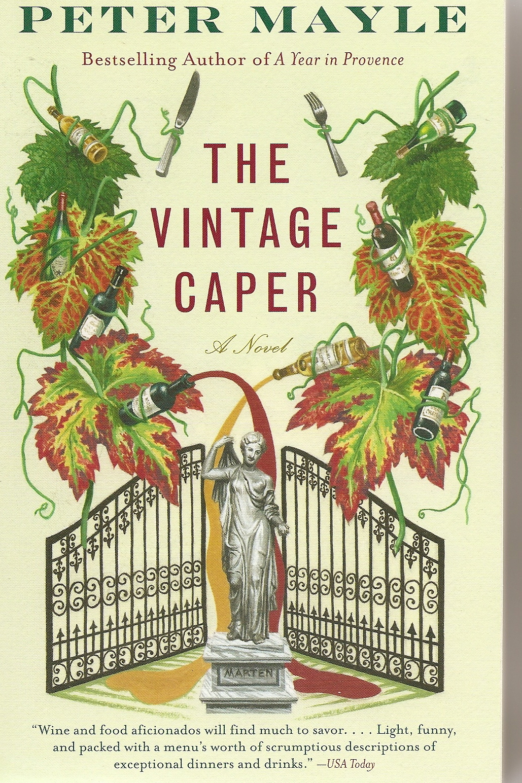 The Vintage Caper Peter Mayle
