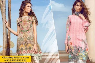 Cross Stitch Lawn 2017 Summer Collection With Prices And Details