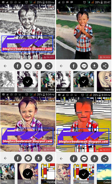 unduh aplikasi kamera Prisma android terbaru + hasil filter