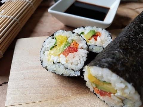 Os muitos benefícios do sushi