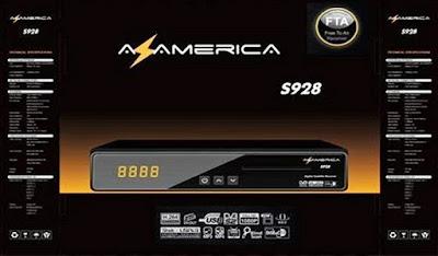 Azamerica S928 Transformado em Cinebox Supremo