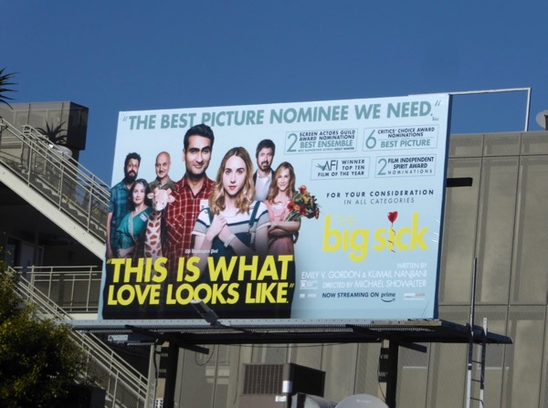 Big Sick awards consideration billboard