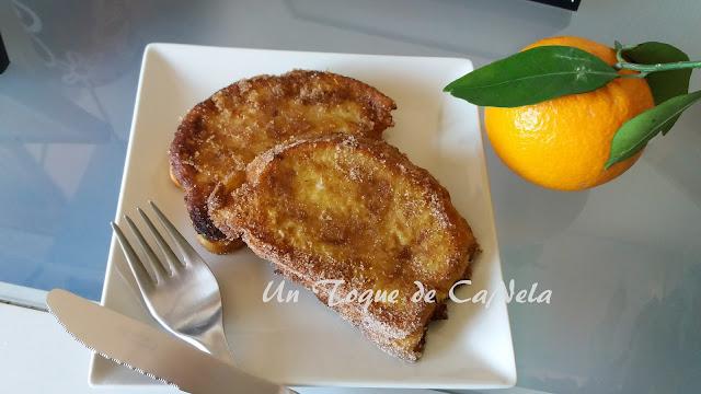 Torrijas De Naranja Sin Lactosa (a Mi Manera)
