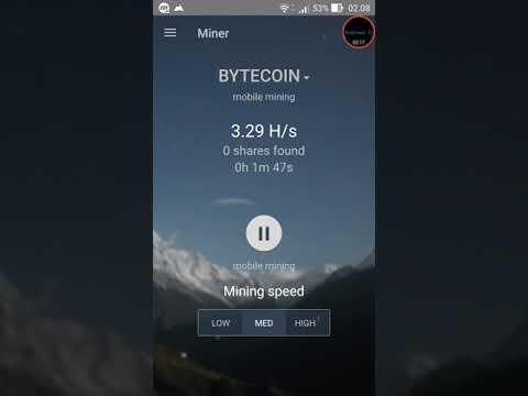 Cara Mining Bitcoin & Altcoin Gratis di Android dengan Android Miner Minergate dan Perbedaan Cloud mining minergate dan Android Miner Minergate