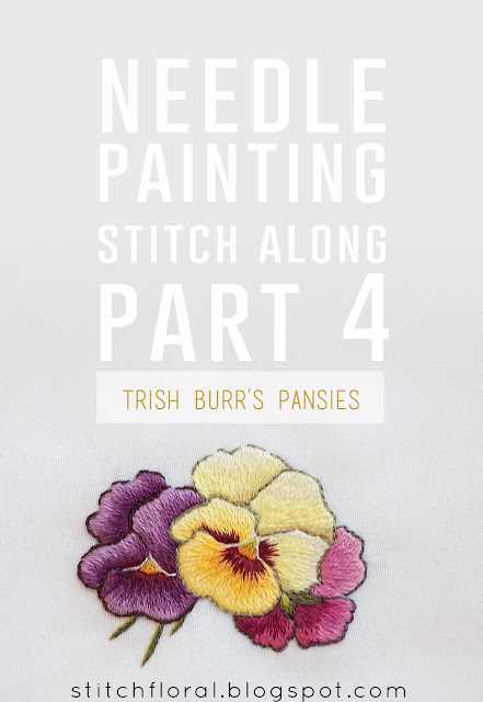 Needle Painting stitch along: part 4