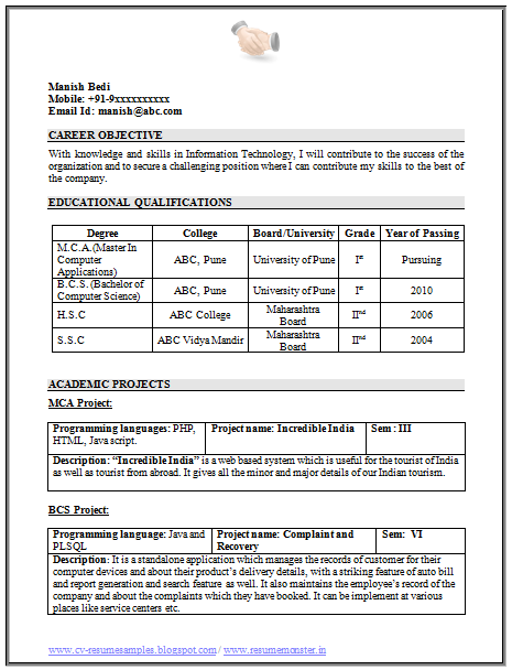 Over 10000 CV And Resume Samples With Free Download 100