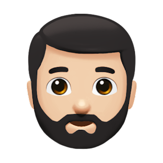 Bearded Person Apple Emojis for 2017