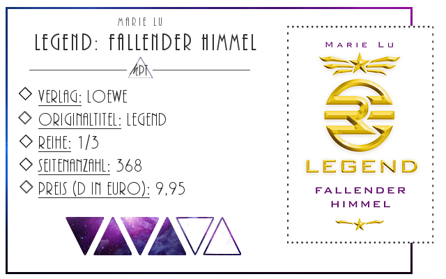 [Rezension] Legend: Fallender Himmel - Marie Lu