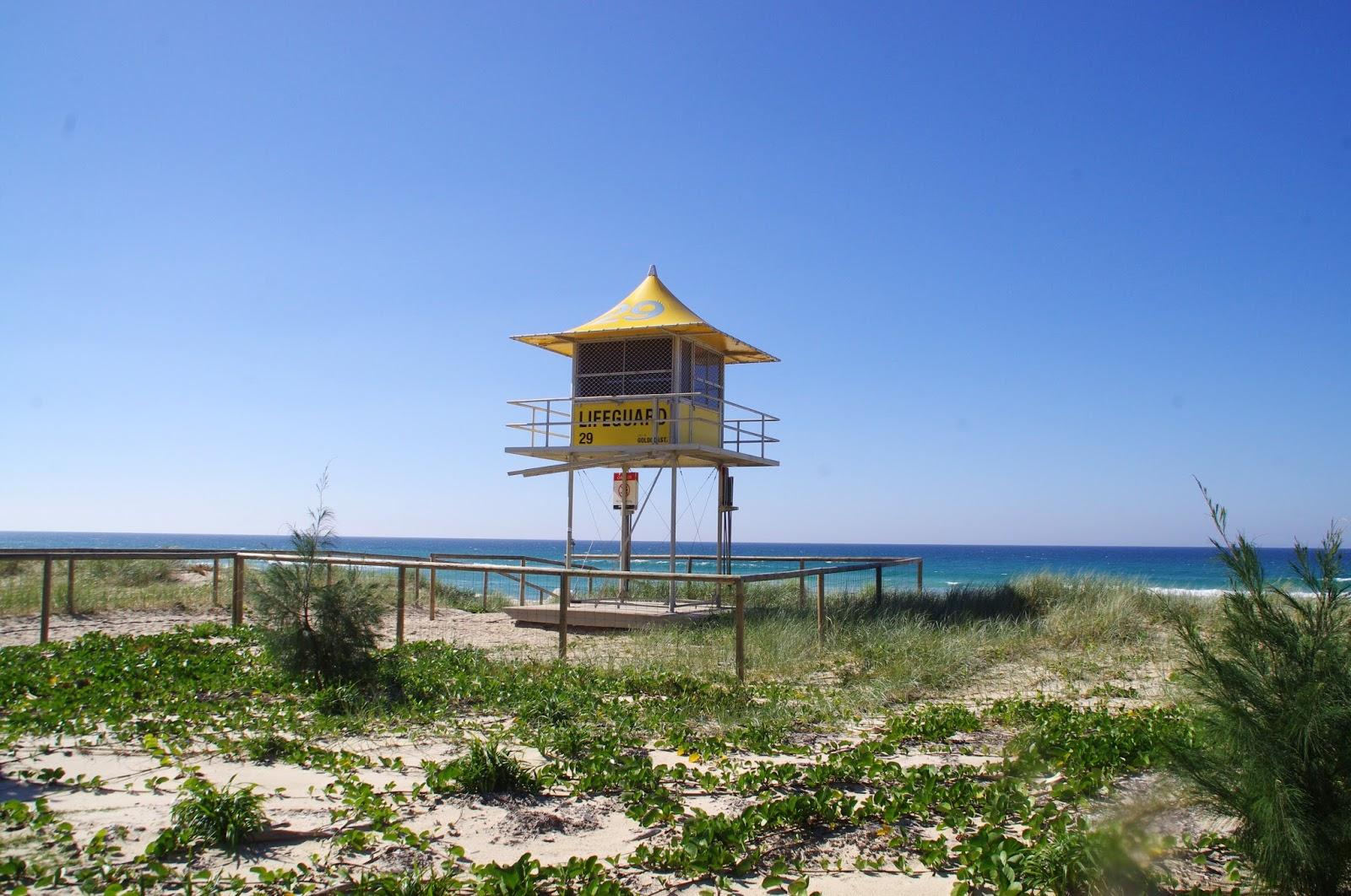 Gold Coast Beach Lifeguard Tower