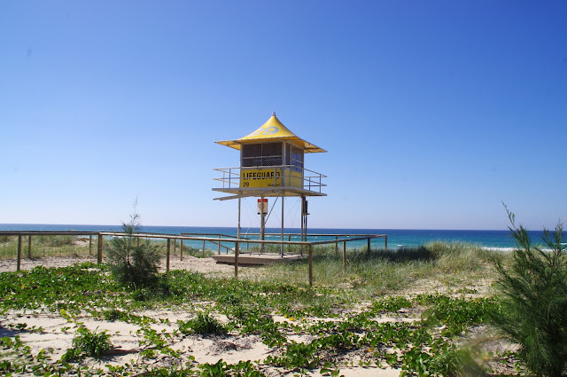 Gold Coast Beach Lifeguard Tower