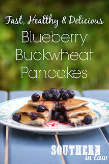 Healthy Blueberry Buckwheat Pancakes Recipe Gluten Free
